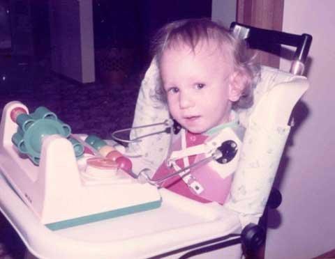 Nick Vujicic khi còn nhỏ